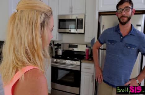 Бородатый чувак удивил блондиночку размером прибора #2