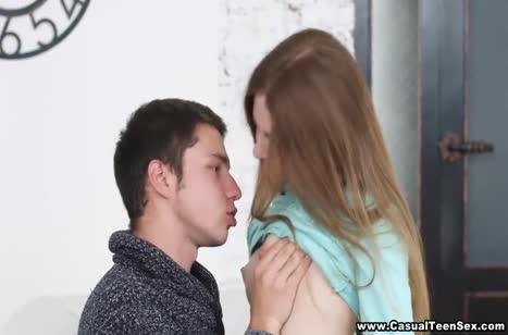 Русская парочка после прогулки согревается страстным сексом #2