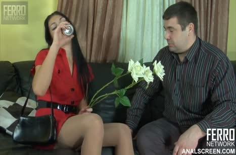 Русская женушка устроила с муженьком жесткую оргию