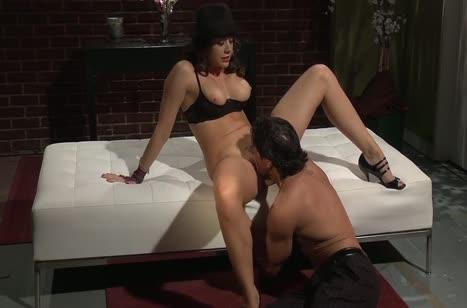 Грудастая Chanel Preston восторгается сексом с мускулистым челом #2